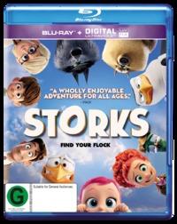 Storks on Blu-ray