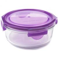 Glass Meal Bowl - Grape (660ml) image