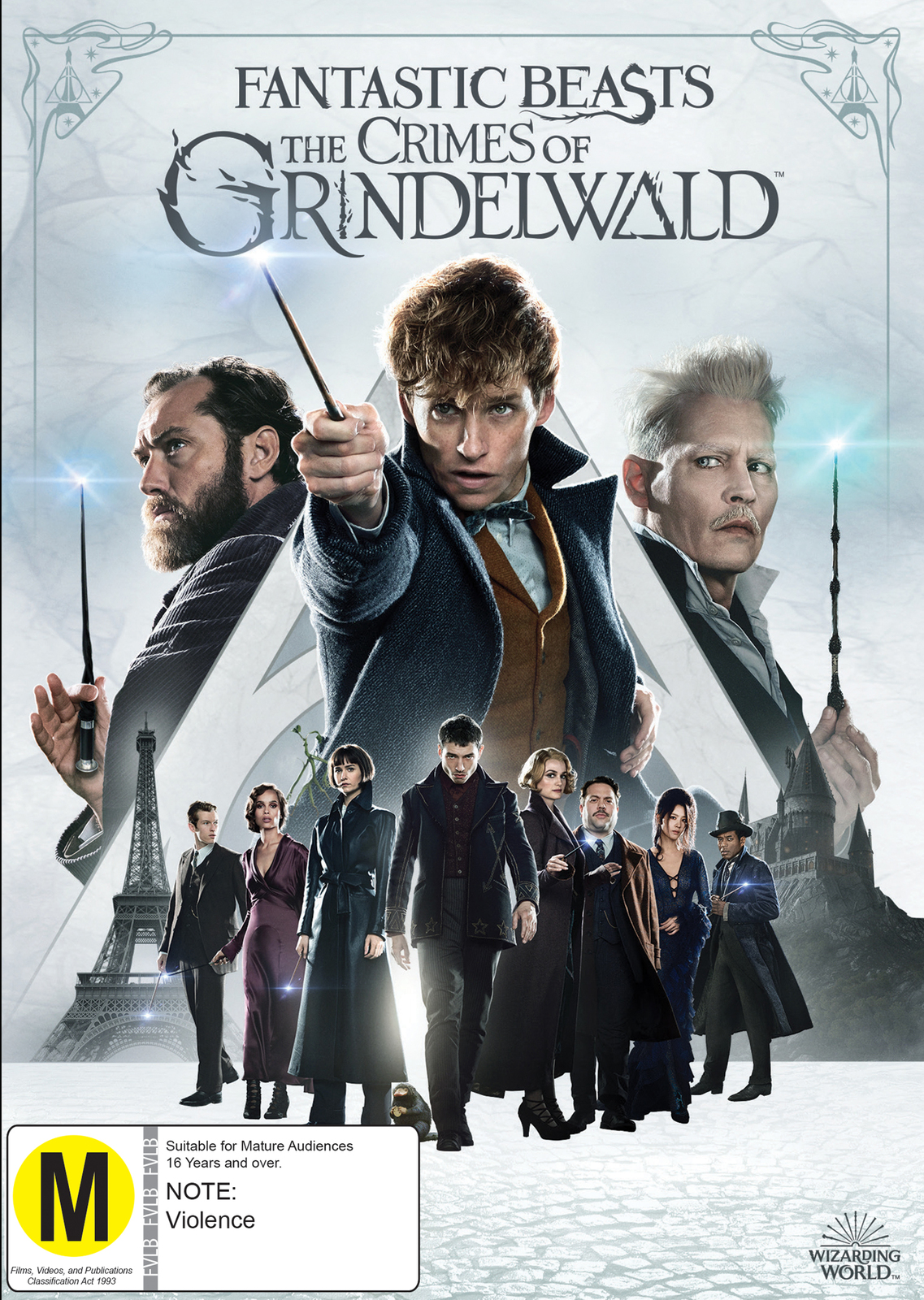 Fantastic Beasts: The Crimes Of Grindelwald on DVD image