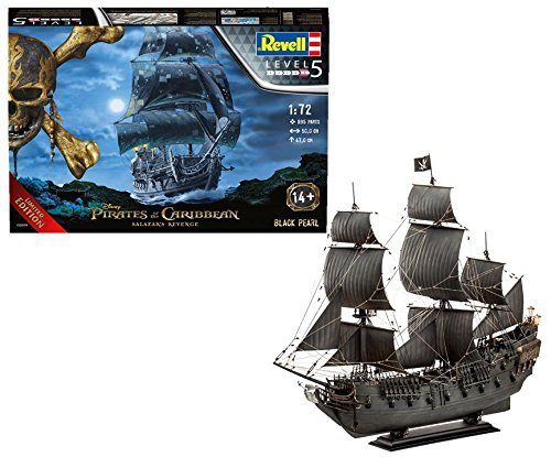 Revell: Black Pearl Pirate Ship - 1:72 Scale Model Kit
