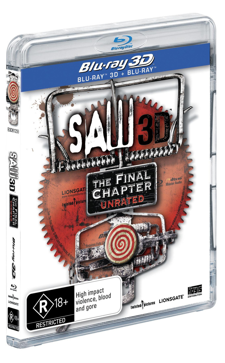 Saw: The Final Chapter - 3D on Blu-ray image