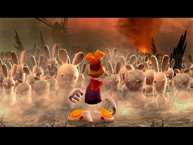 Rayman: Raving Rabbids for PS3 image
