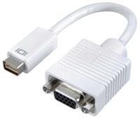 20cm 8Ware Mini DVI to VGA Cable