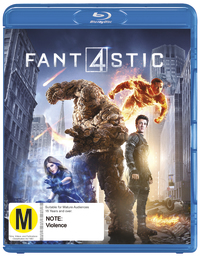 The Fantastic Four on Blu-ray