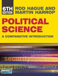 Political Science: A Comparative Introduction by Rod Hague image