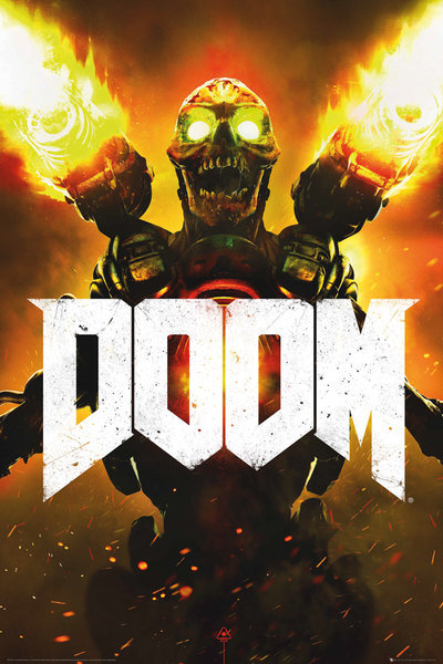DOOM - Key Art Maxi Poster (553)