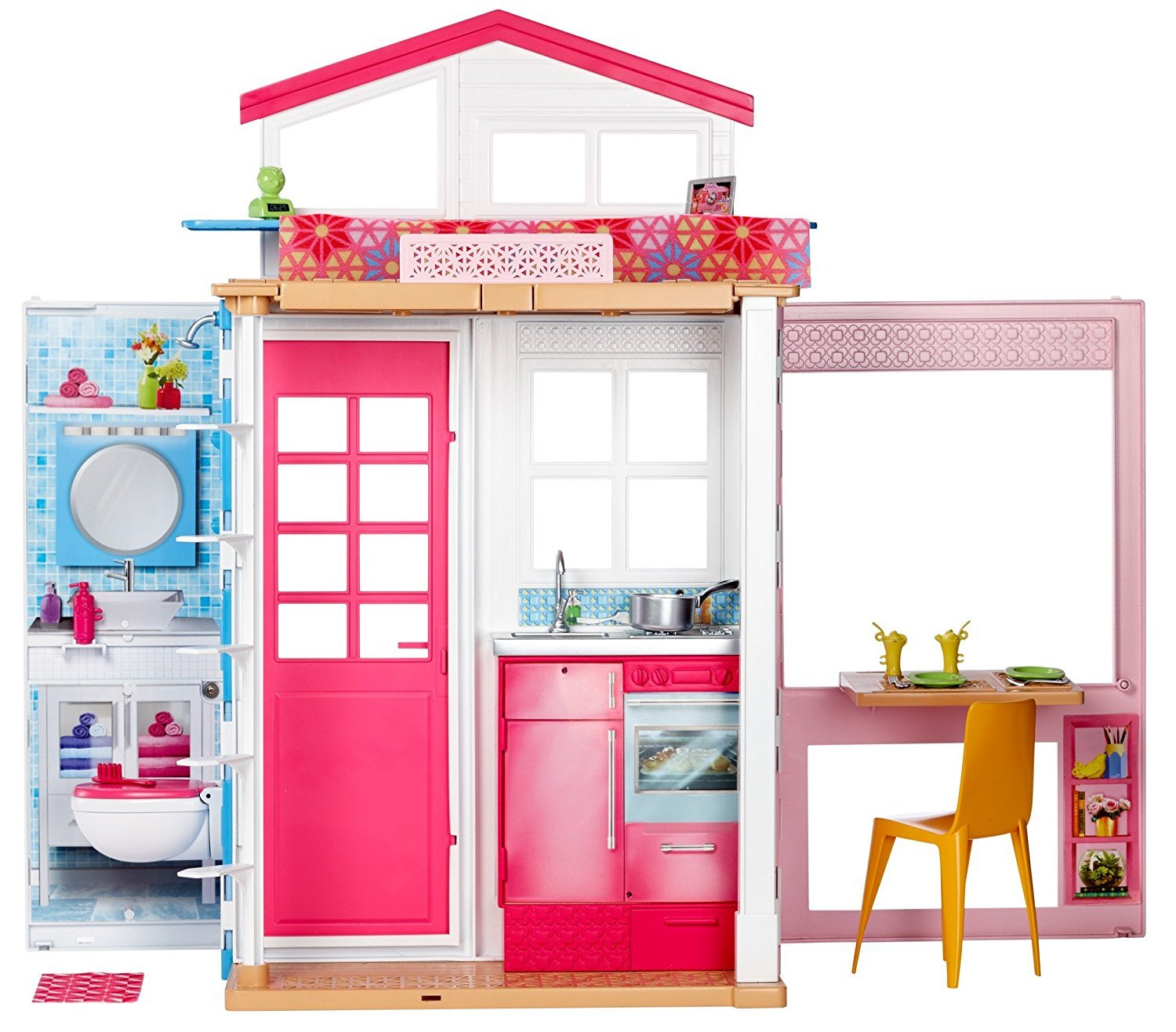Barbie: 2-Story Entry Doll House | Toy | at Mighty Ape NZ