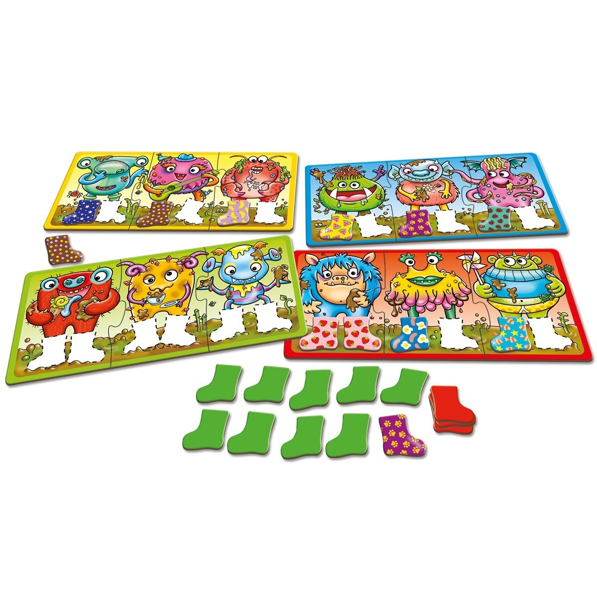 Orchard Toys: Smelly Wellies Game image