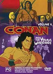 Conan and the Young Warriors - Vol. 4 on DVD
