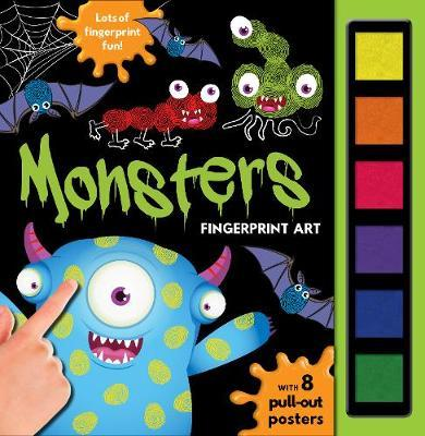 Fingerprint Art Monsters