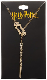 Harry Potter: Alohomora - Lariat Necklace