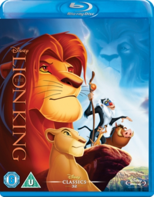 The Lion King on Blu-ray