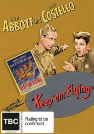 Keep 'Em Flying on DVD