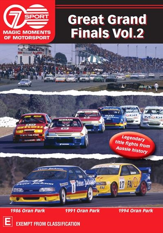 Magic Moments Of Motorsport: Great Grand Finals - Volume 2 on DVD