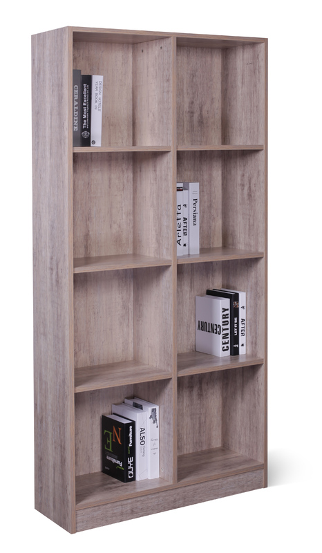 8 Cube Storage Cubby - Wood Grain