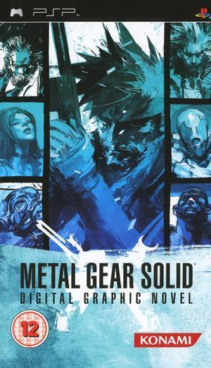 Metal Gear Solid Digital Graphic Novel for PSP