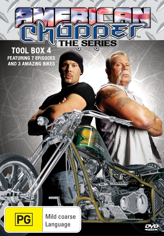 American Chopper: The Series - Tool Box 4 (Discovery Channel) on DVD