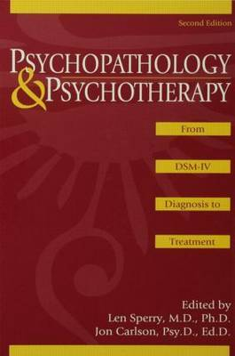 Psychopathology and Psychotherapy: From DSM-IV Diagnosis to Treatment image