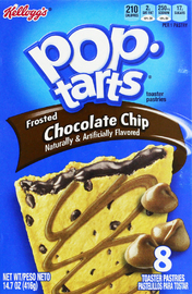 Kellogg's Pop Tarts Frosted Chocolate Chip image