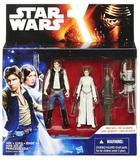 "Star Wars: 3.75"" Han Solo & Princess Leia Figure 2-Pack"