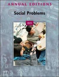 Annual Editions: Social Problems: 2010-2011 by Kurt Finsterbusch image