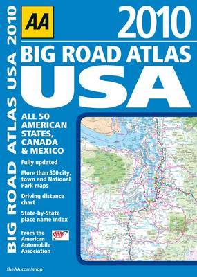 AA Big Road Atlas USA: 2010 by AA Publishing image