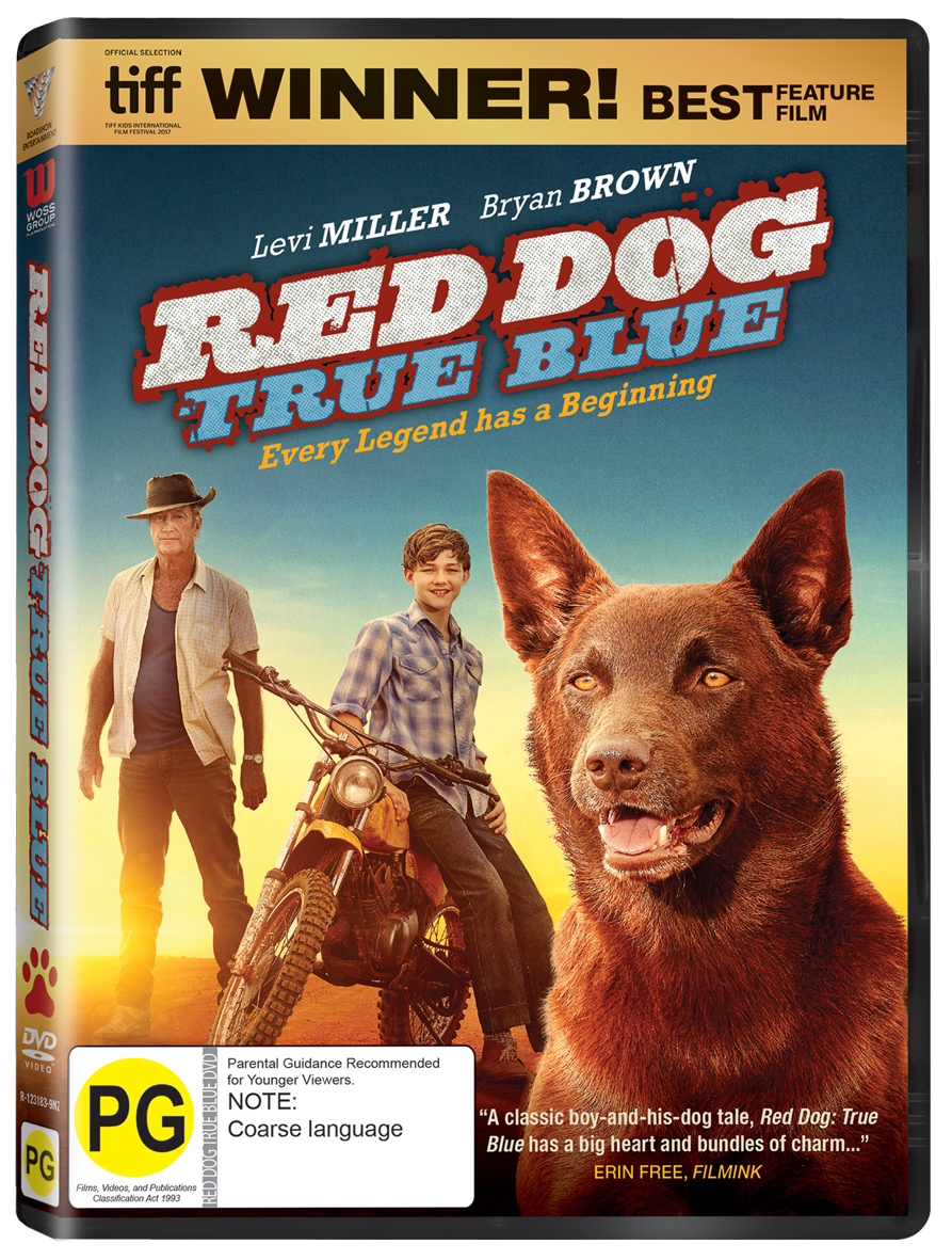 Red Dog: True Blue DVD image