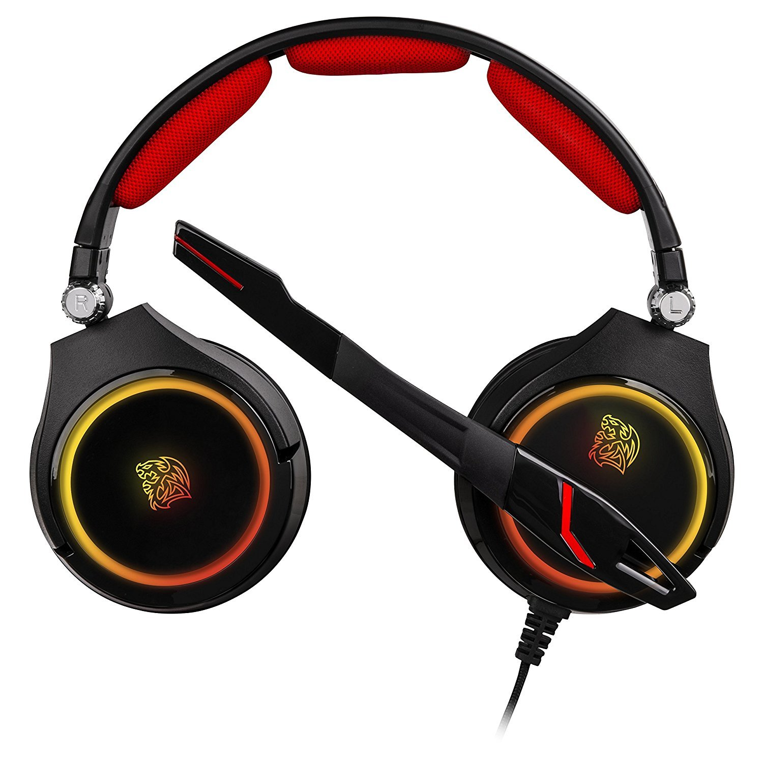 ThermalTake CRONOS RGB 3D 7 1 Surround Sound PC Gaming Headset
