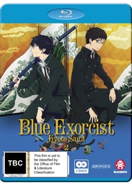 Blue Exorcist: Kyoto Saga - Volume 2 (Episodes 7-12) on Blu-ray