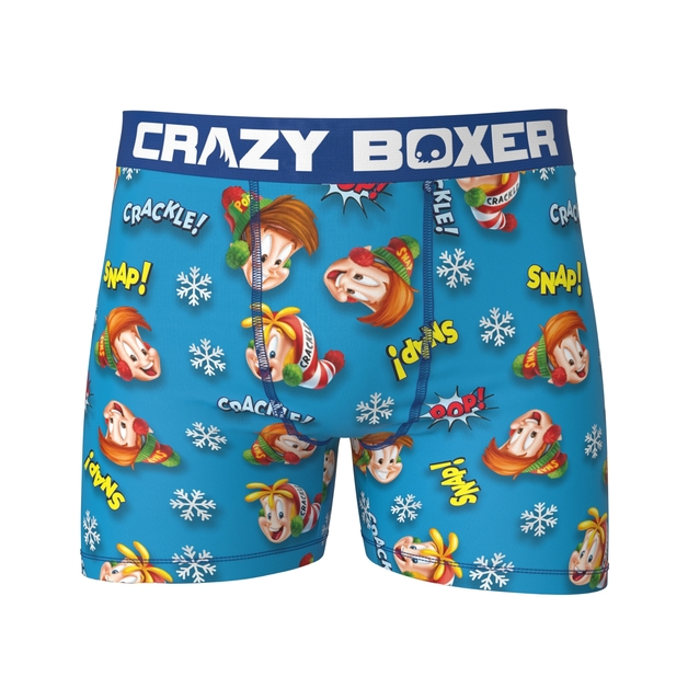 Crazy Boxer: Fun Pack - 3 Pack Boxer Briefs (Kellogs) - Large