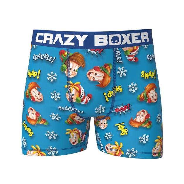 Crazy Boxer: Fun Pack - 3 Pack Boxer Briefs (Kellogs) - Large