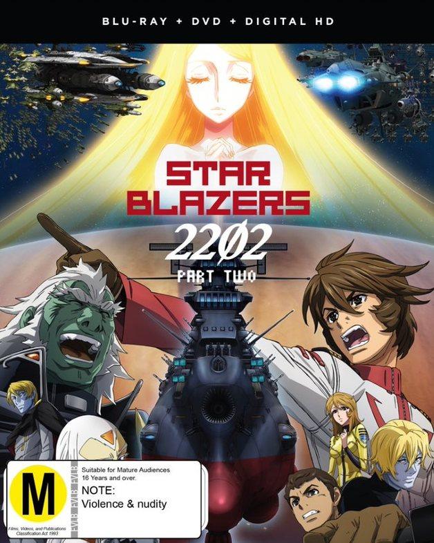Star Blazers: Space Battleship Yamato 2202 - Part 2 (Eps 14-26) DVD / Blu-ray Combo on Blu-ray