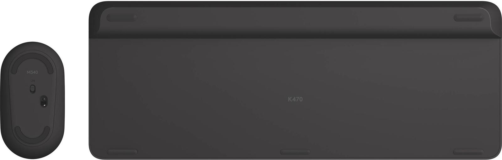 Logitech MK470 Slim Wireless Keyboard and Mouse Combo - Black image