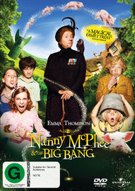 Nanny McPhee and The Big Bang on DVD