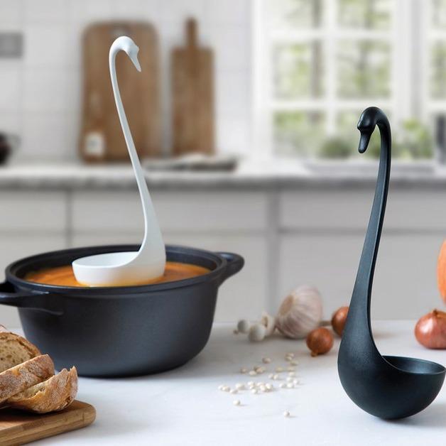Swanky Floating Ladle (Black)