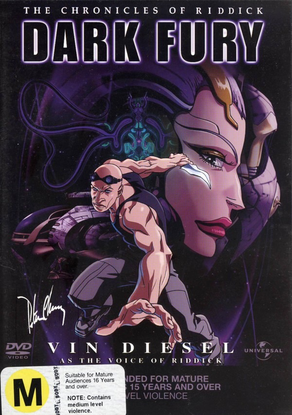 Chronicles Of Riddick, The - Dark Fury on DVD image