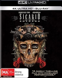 Sicario: Day Of The Soldado on UHD Blu-ray