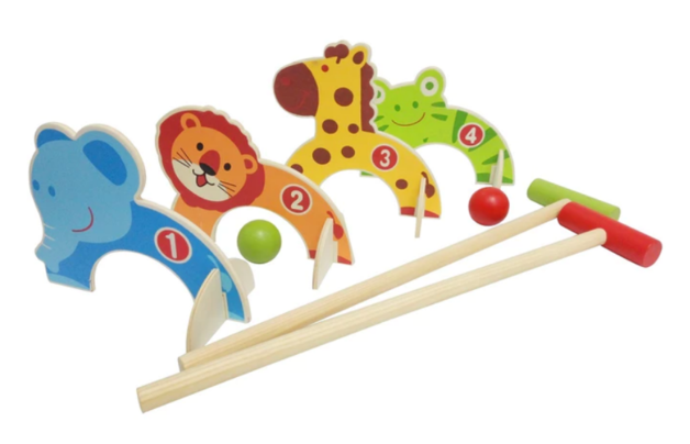 Easy Days: Wooden Animal - Croquet Set