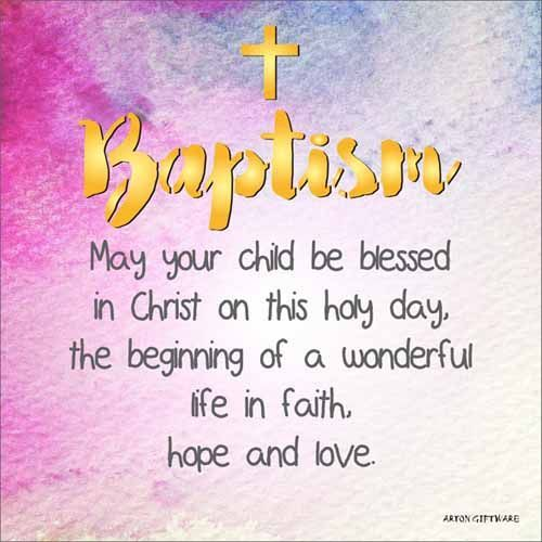Mt Meru: Baptism Enlightened Wishes LED Block
