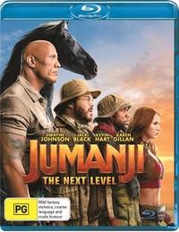 Jumanji: The Next Level on Blu-ray