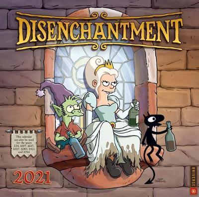 Disenchantment 2021 Wall Calendar by Bapper Entertainment