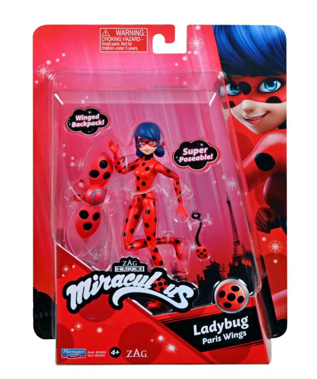 Miraculous: Ladybug (Paris Wings) - 12cm Fashion Doll