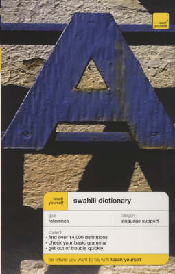 Swahili Dictionary by D.V. Perrott