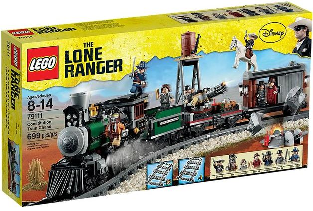 LEGO The Lone Ranger - Constitution Train Chase (79111)
