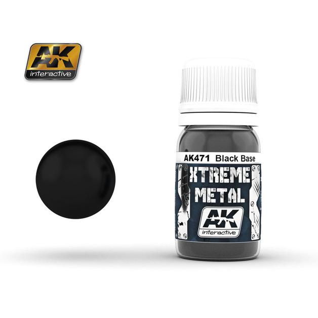 AK Xtreme Metal Black Base (30ml)