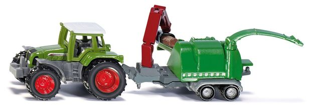 Siku: Fendt with Wood Chipper