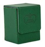 Ultimate Guard: 80+ XenoSkin Flip Deck Case (Green)