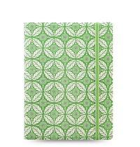Filofax - A5 Notebook - Impressions (Green & White)