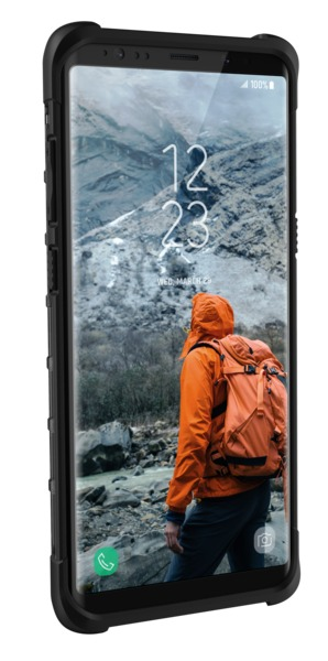 UAG Plasma Case for Galaxy Note 8 (Ash/Black) image