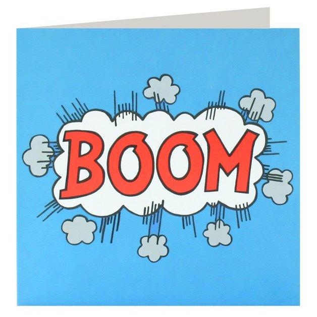 James Ellis: Boom - Greeting Card